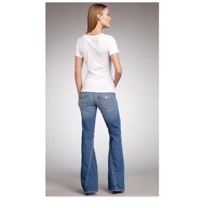 True religion Joey light wash Bootcut Jeans 26